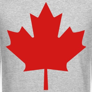 Maple Leaf Long Sleeve Shirts - Crewneck Sweatshirt