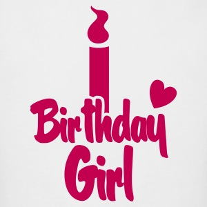 birthday girl candle Long Sleeve Shirts - Men's Long Sleeve T-Shirt by Next Level