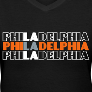 Design ~ Philly West - Women's V-Neck