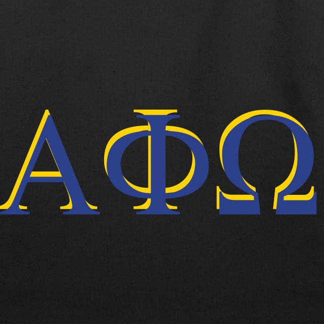 Limited Time Only - Alpha Phi Omega tote bag