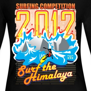 2012 Surfing Competition Long Sleeve Shirts - Women's Long Sleeve Jersey T-Shirt