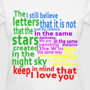 Keep in mind that I love you Women's T-Shirts - Women's T-Shirt