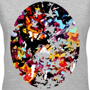Fall Leaves- Women - Women's V-Neck T-Shirt