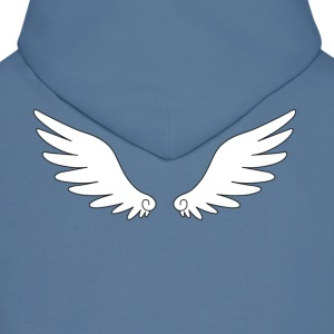 angel wing A2 Hoodies - Men's Hoodie