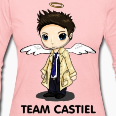 Team Castiel (light) Long Sleeve Shirts