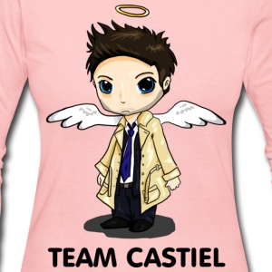 Team Castiel (light) Long Sleeve Shirts - Women's Long Sleeve Jersey T-Shirt
