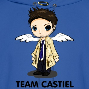 Team Castiel (light) Hoodies - Men's Hoodie