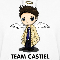 Team Castiel (light) Hoodies