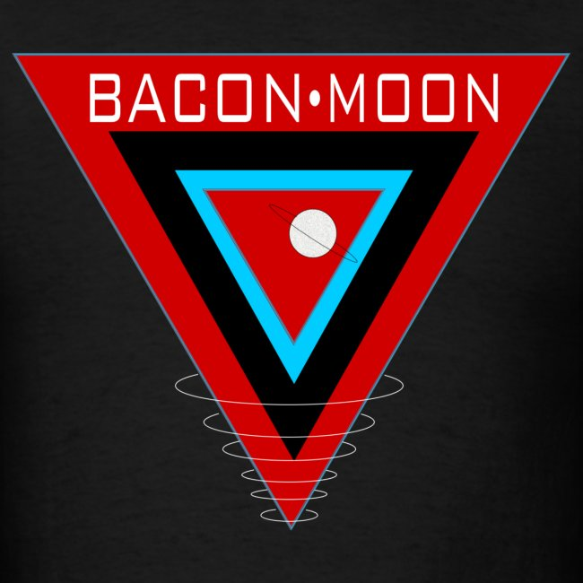 Bacon Moon Black T White Rings