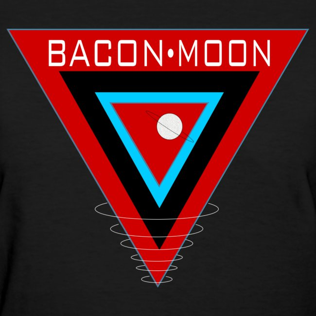 Bacon Moon Logo Women's T-Shirt
