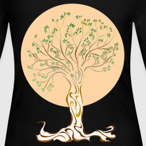 Tree of Life Long Sleeve Shirts - Women's Long Sleeve Jersey T-Shirt