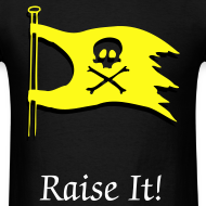 Design ~ Raise It! Flag Tee