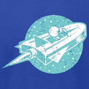 Space Cruiser - Men's T-Shirt by American Apparel