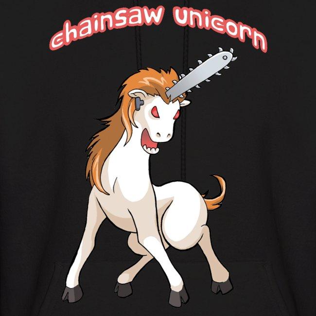 Chainsaw Unicorn Hoodie