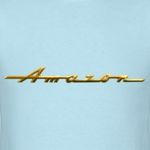 Classic Amazon gold script emblem - Men's T-Shirt