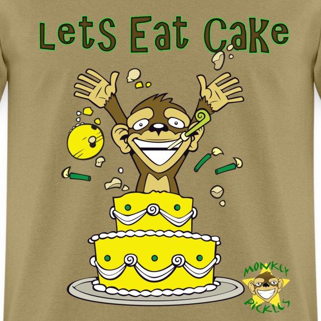 Monkey Pickles Lets Eat Cake