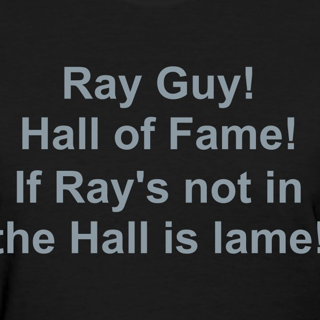 Ray Guy HOF f