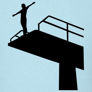 High diving T-Shirts - Men's T-Shirt