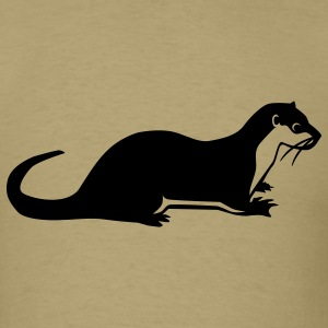 Otter T-Shirts - Men's T-Shirt