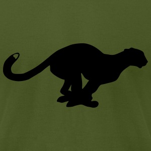 Panther T-Shirts - Men's T-Shirt by American Apparel