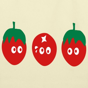 Funny tomatoes - Eco-Friendly Cotton Tote