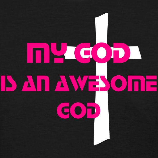 AWESOME GOD  neon color
