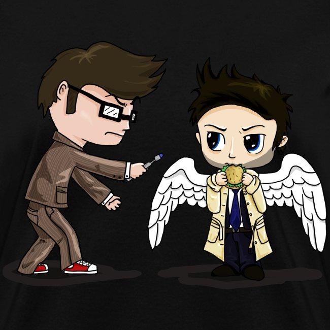 Superwho: The Doctor & Castiel