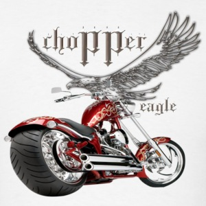 Custom Chopper - Men's T-Shirt