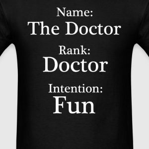 Name, Rank, Intention - Men's T-Shirt