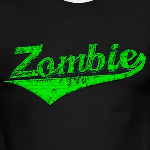 Team Zombie mens sport - Men's Ringer T-Shirt