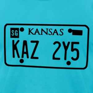 Impala License Plates T-Shirts - Men's T-Shirt by American Apparel