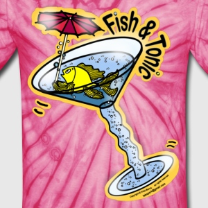 Fish and Tonic - Unisex Tie Dye T-Shirt