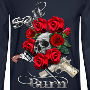 Salt N Burn Guns  Long Sleeve Shirts - Men's Long Sleeve T-Shirt