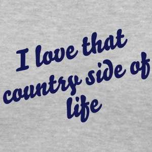 Down by the country side Women's T-Shirts - Women's V-Neck T-Shirt