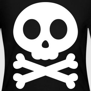 Skull Crossbones Long Sleeve Shirts - Women's Long Sleeve Jersey T-Shirt