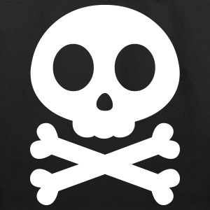 Skull Crossbones Bags  - Eco-Friendly Cotton Tote