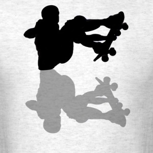 Skateboarder's Shadow - Men's T-Shirt