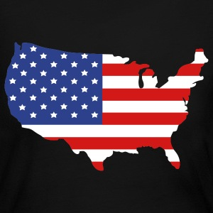 United States of America Long Sleeve Shirts - Women's Long Sleeve Jersey T-Shirt