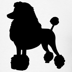 Poodle Dog T-Shirts - Men's T-Shirt