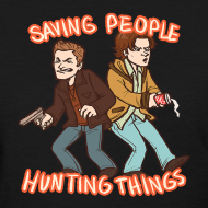 Design ~ Saving People, Hunting Things (DESIGN BY STEFFANY)