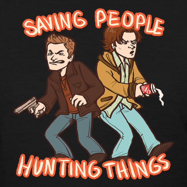 Saving People, Hunting Things (DESIGN BY STEFFANY)