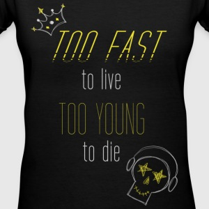 Big Bang - Too Fast, Too Young - Women's V-Neck T-Shirt