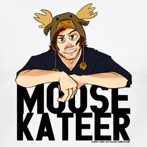 Moosekateer T-Shirts - Men's Ringer T-Shirt