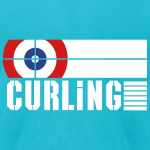 Curling ground T-Shirts - Men's T-Shirt by American Apparel