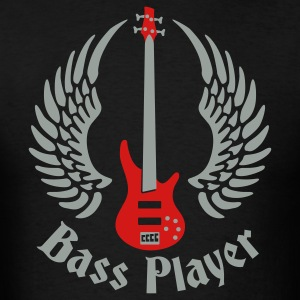 bass_guitar_072011_e_2c T-Shirts - Men's T-Shirt