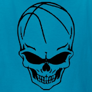 basketball_skull Kids' Shirts - Kids' T-Shirt