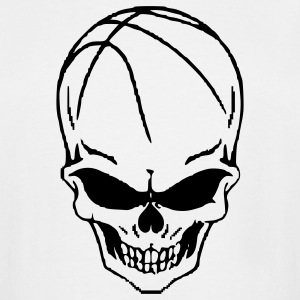 basketball_skull T-Shirts - Men's Tall T-Shirt