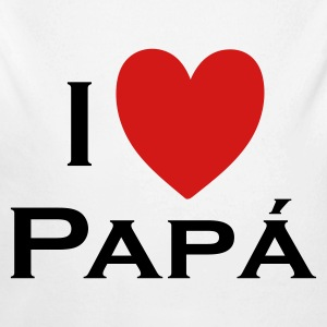I love Papá Baby Bodysuits - Baby Long Sleeve One Piece