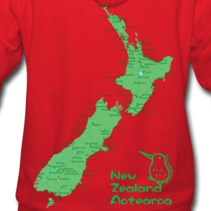 New Zealand's Map Hoodies - Women's Hoodie