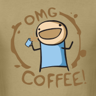 Design ~ OMG Coffee Standard Tee
